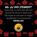 Steun ons door een giftcard te kopen via www.lift-on.nl/shop/41780 ♥️ Alvast bedankt noodlover!? Open de link wel vanuit je eigen browser, anders doet de website het niet optimaal! . . . Support us by buying a giftcard via www.lift-on.nl/shop/41780 ♥️ Thanks in advance noodlover!? . Open the link in your own internetbrowser, otherwise the website doesn't work optimal! . #supportyourlocal #Tilburg #Giftcard #Sendlove